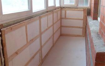Як утеплити балкон - огляд матеріалів теплотехніка - опалюва.